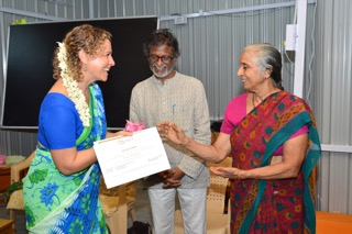 Memories from Yoga Teacher Training Graduation 2
