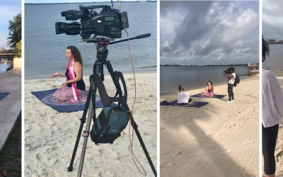 Stress Relief On The Beach: Florida Yoga Academy on Fox 4 News